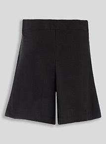 Black Teflon Culottes (3 - 16 years)
