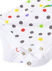 White 'The Very Hungry Caterpillar' Bodysuit (Newborn-18 months)