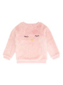 Pink Novelty Fleece (9 months-6 years)