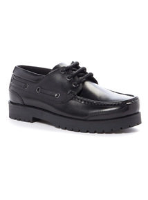 Online Exclusive Leather Boat Shoes