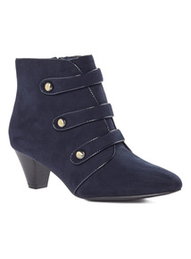 Navy Military Boots