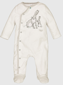 Guess How Much I Love You White Sleepsuit (0-36 Months)