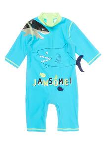 Boys Blue Shark Sunsafe (9 months - 6 years)