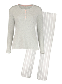 Grey Henley Pyjamas