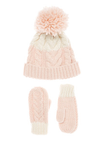 Cream and Rose Winter Set (1-12 years)
