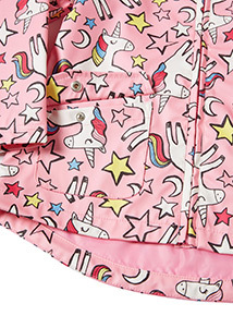 Multicoloured Unicorn Print Mac (9 months-6 years)