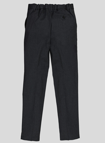 Grey Easy Iron School Trouser With Stretch (10 - 16 years)