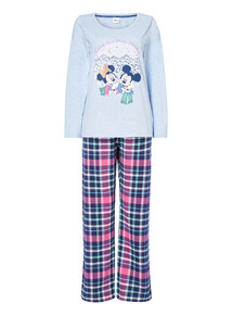 Disney Minnie & Mickey Mouse Pyjama Set