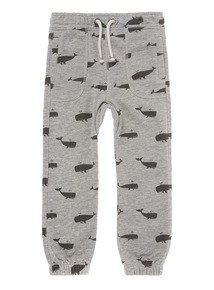 Multicoloured Whale Patterned Joggers (9 months - 6 years)