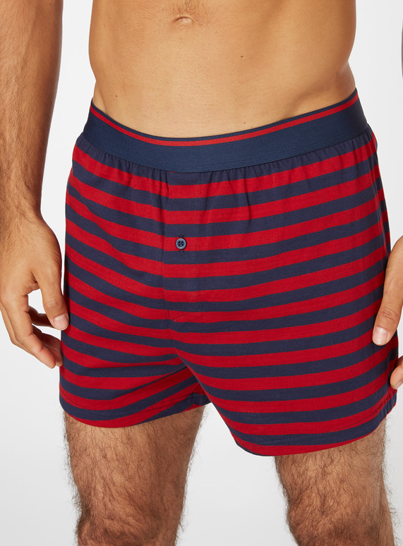 0c3dbcda7747 Menswear 3 Pack Red Printed Jersey Boxers | Tu clothing