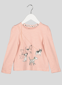 Pink Puppy Long Sleeve T-Shirt (9 months – 6 years)