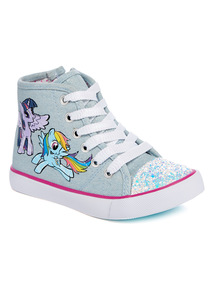 Blue 'My Little Pony' High Top Trainers