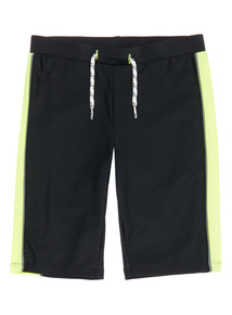 Boys Multicoloured Long Leg Swim Shorts