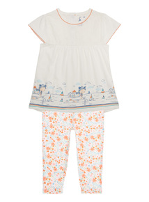 Multicoloured Tee And Leggings Set (0 - 24 months)