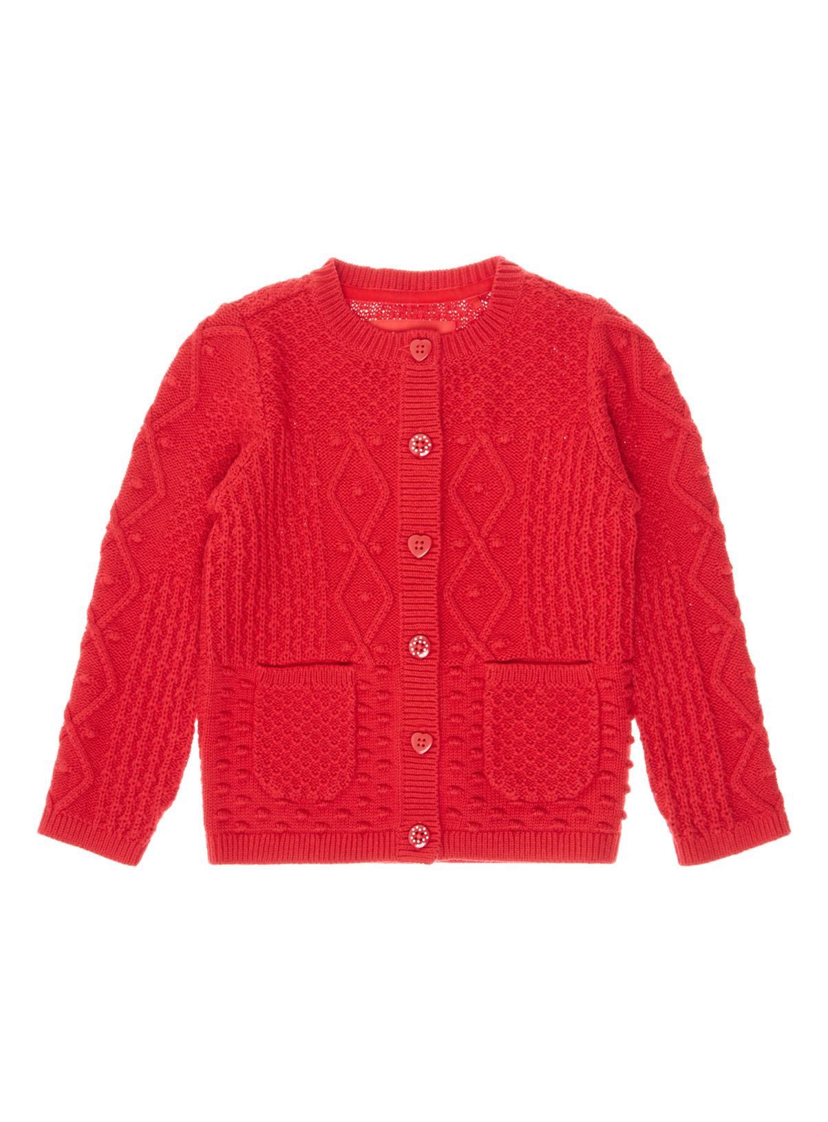All Girl's Clothing Red Knit Cardigan (9 months-6 years) | Tu clothing