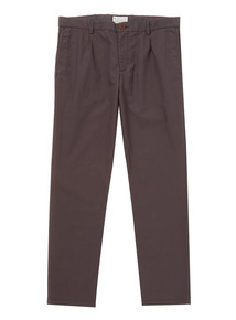 Charcoal Tapered Chinos