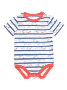Multicoloured Stripe Bodysuit (0-24 months)