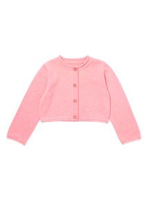 Pink Shrug Cardigan (0-24 months)