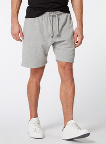 Russell Athletic Grey Marl Shorts