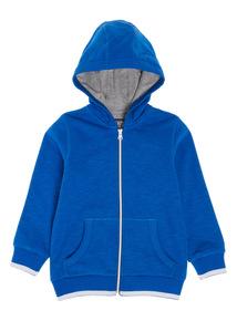 Blue Heathered Hoody (9 Months - 5 Years)