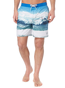 Multicoloured Surfer Board Shorts