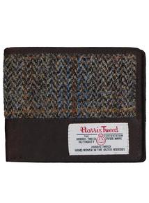 Harris Tweet & Leather Billfold Wallet