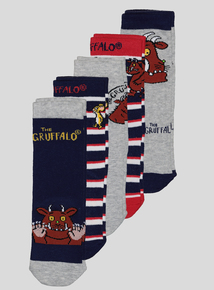 The Gruffalo Multicoloured Socks 5 Pack (3-12 Infant)