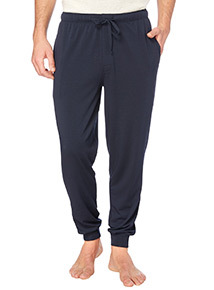 Navy Modal Jersey Trousers