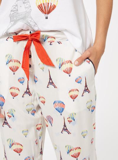 Multicoloured Balloon Trousers