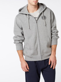 Online Exclusive Russell Athletic Grey Zip Through