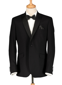 Black Two Button Dinner Jacket