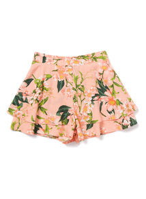 Multicoloured Floral Shorts (3-14 years)