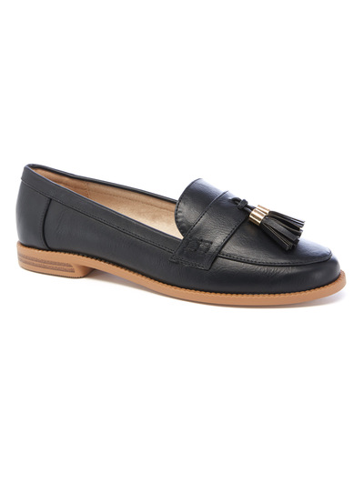Penny PU loafers