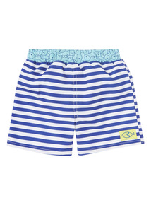 Blue Seaside Trunks (0 - 3 years)