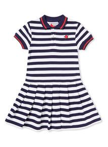Navy Stripe Tennis Dress (3-14 years)