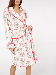 Rose Print Tatty Teddy Gown