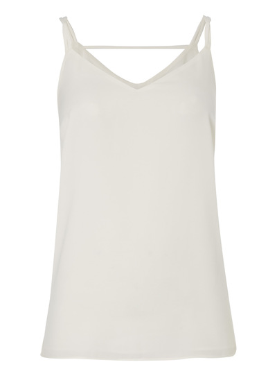 Cream Double Strap Cami