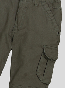 Khaki Cargo Trousers (3-14 years)