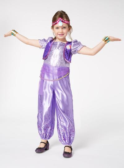 Purple Shimmer Costume (2-6 years)