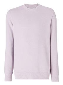 Lilac Crew Neck Sweatshirt