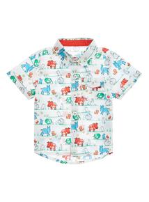 Boys Multicoloured Animal Print Shirt (0-24 months)