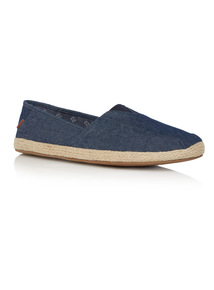 Blue Chambray Espadrilles