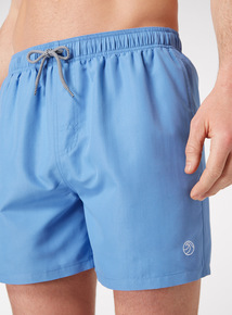 Pastel Blue Swim Shorts
