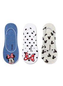 3 Pack Minnie Mouse Disney Footsie