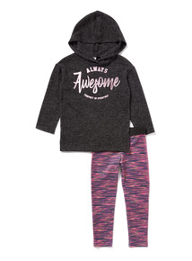 2 Piece Multicoloured Awesome Dance Set (3-14 years)