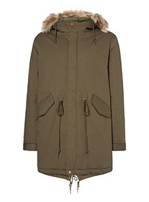 Admiral Khaki Heavyweight Parka