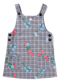 Multicoloured Check Pinny Dress (3-14 years)
