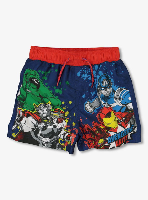 9d736bc70e016 License & Character Shop Marvel Avengers Swim Shorts (1.5 - 12 years ...