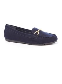 Sole Comfort Navy Loafers