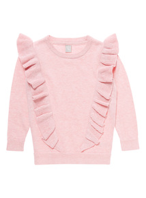 Pink Frill Jumper (3-14 years)